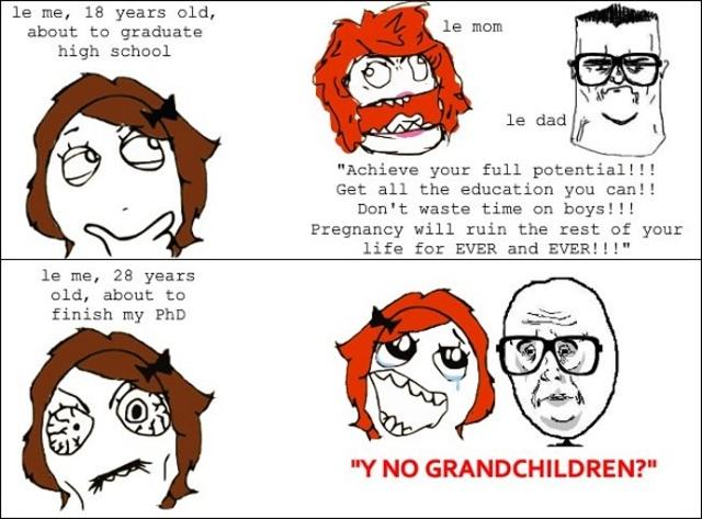 No grandchildren?