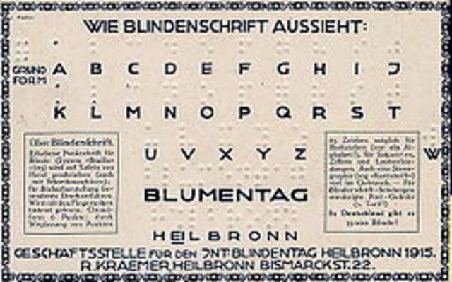 Δημιουργεία συστήματος ανάγλυφης γραφής