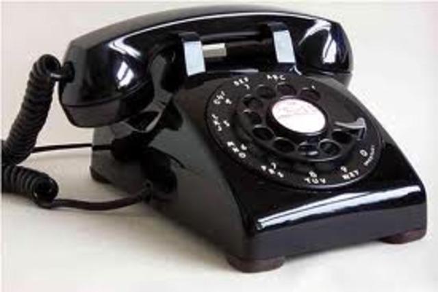 Επινόηση τηλεφώνου.