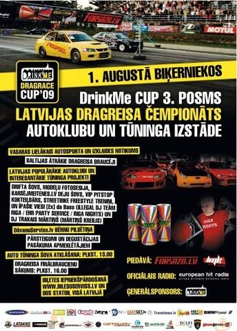 DRINKME DRAGRACE CUP  Rīga