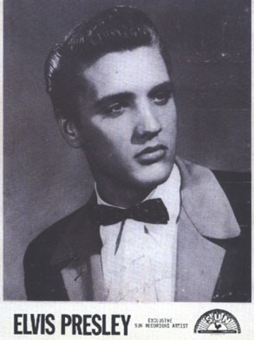 Elvis Presley is discovered