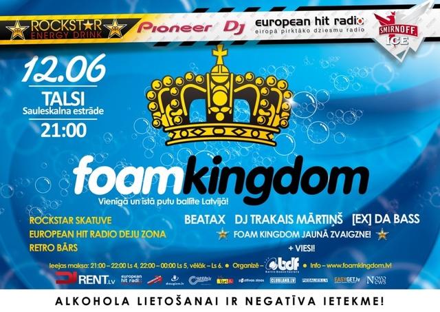 FOAM KINGDOM Jaunā zvaigzne