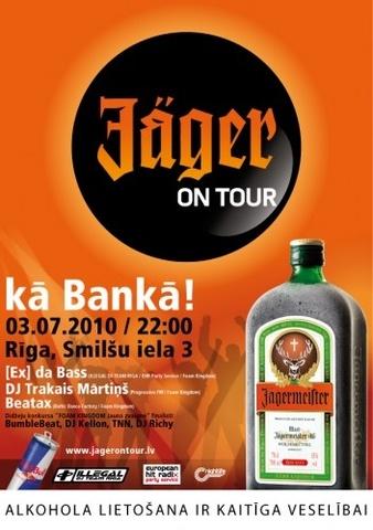 JAGER ON TOUR Rīgā