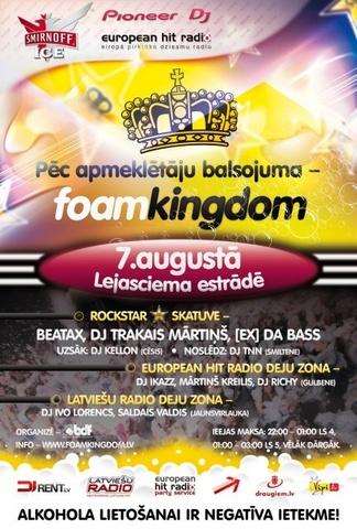 FOAM KINGDOM Lejasciemā