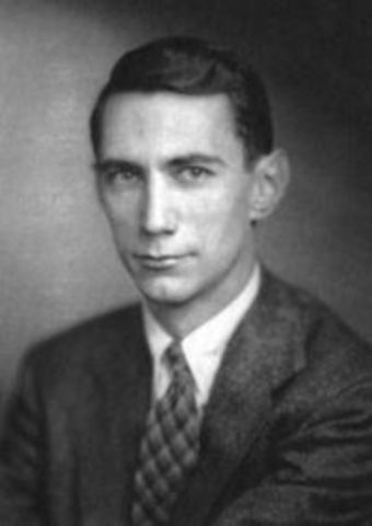 Claude Shannon begins his work on Information Theory