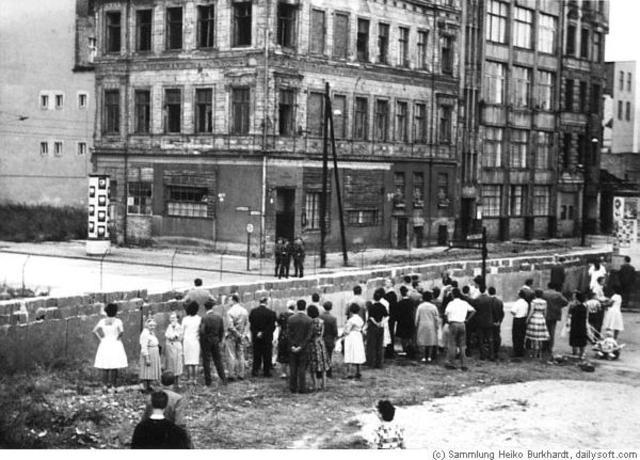 constrution of the Berlin War