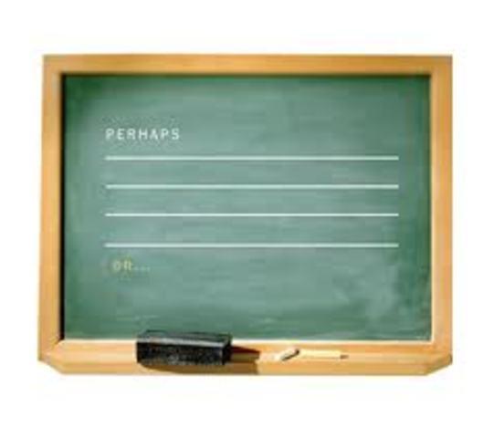 James Pillars invented blackboard.