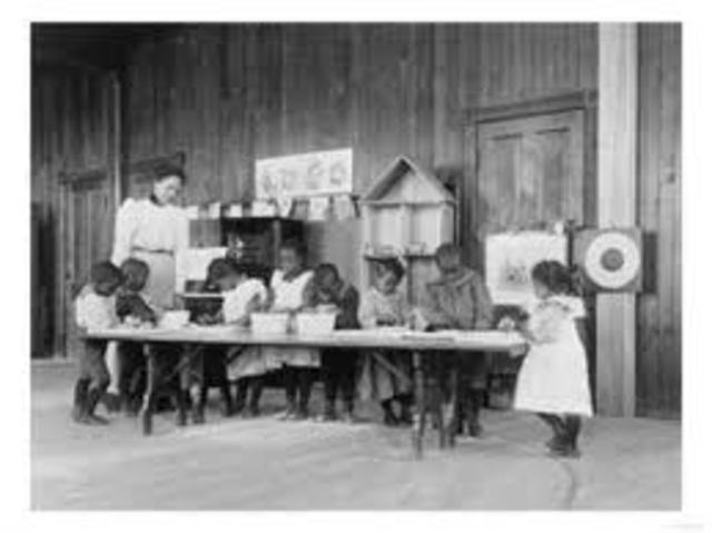 The first kindergarten in the US opened in Watertown, Wisconsin.