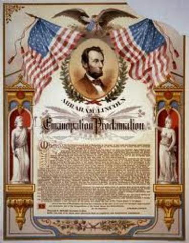 Lincoln assainated; Civil War ended; Slavery abolished