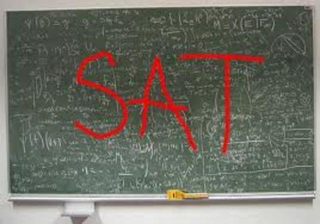 The 1st SAT (Scholoastic Aptitude Test)