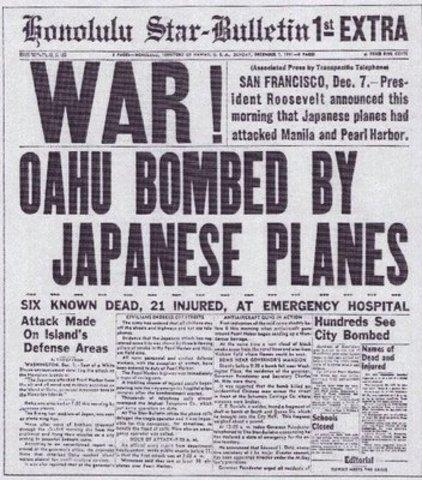 WW II began.