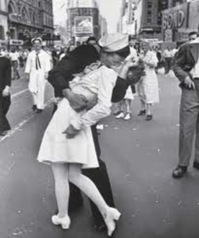 WW II ended.