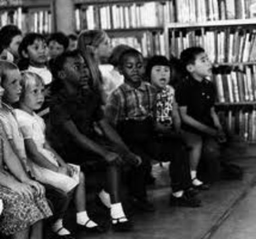 The US District Court in LA ruled against segregation of Mexican-American students.