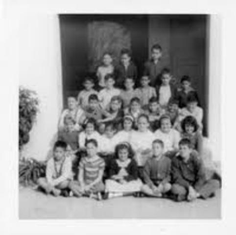 The 1st bilingual public school in the US in Miami was created.