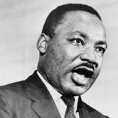 Dr. Martin Luther King, Jr. was assassinated in Memphis, Tennessee.