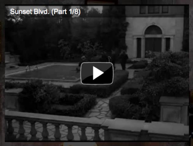 Analysis of Film Noir Opening Seqence