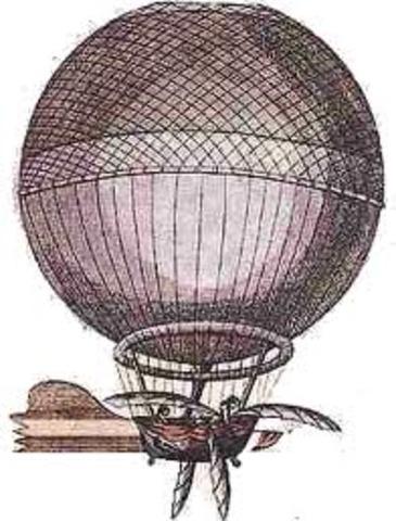 Ο Κάρολος πέταξε με αερόστατο από υδρογόνο