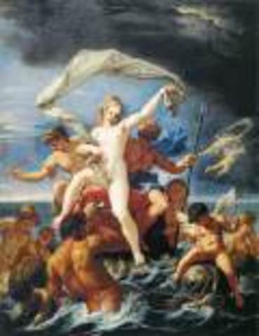 (Art) Neptune and Amphitrite