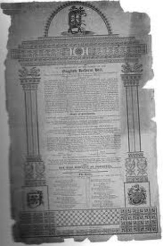 First Reform Bill passed