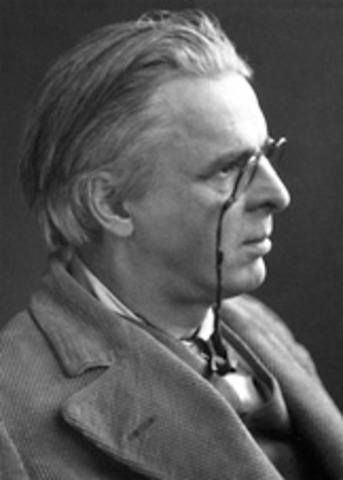 W.B. Yeats receives the Nobel Prize in literature