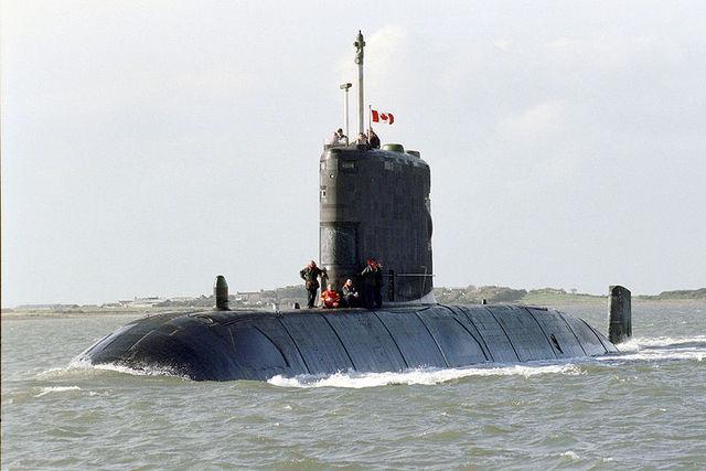 Το πρώτο πολεμικό υποβρύχιο