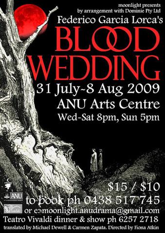 Federico Garcia Lorea's play, Blood Wedding, is published