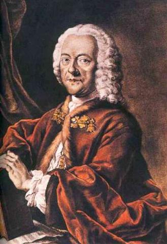 (Music) Georg Telemann is born