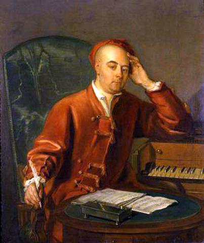 (Music) George Frideric Handel is born