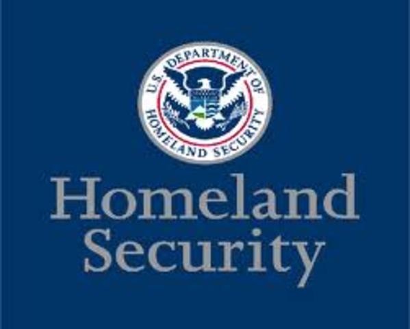 FEMA -> Dept. of Homeland Security