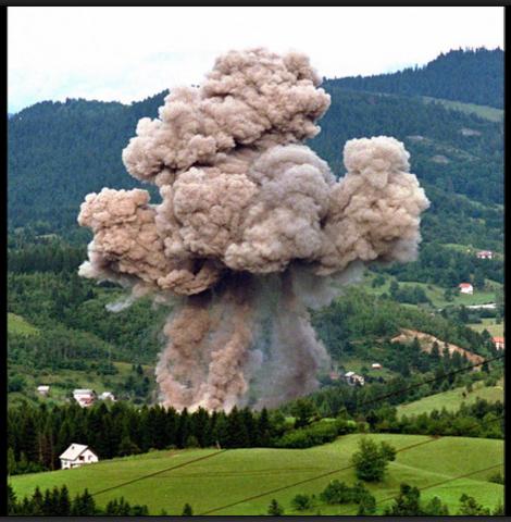 NATO air strikes