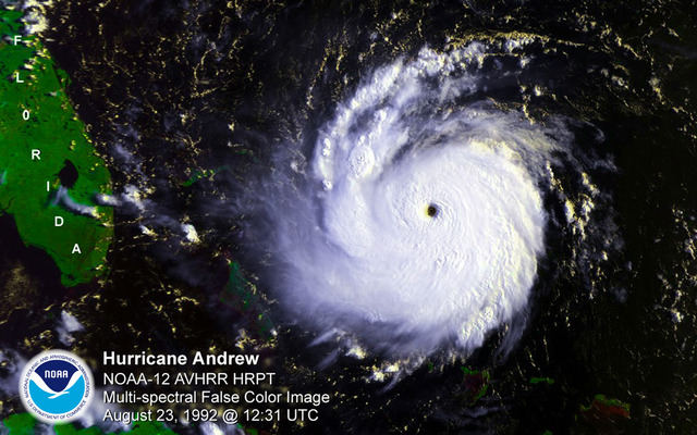 Hurricane Andrew brought national attention to FEMA