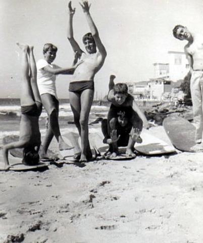 Women arrested for wearing a bikini at bondi beach.