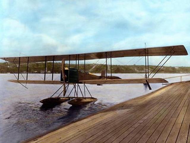 Boeing took B&W Seaplane for first flight