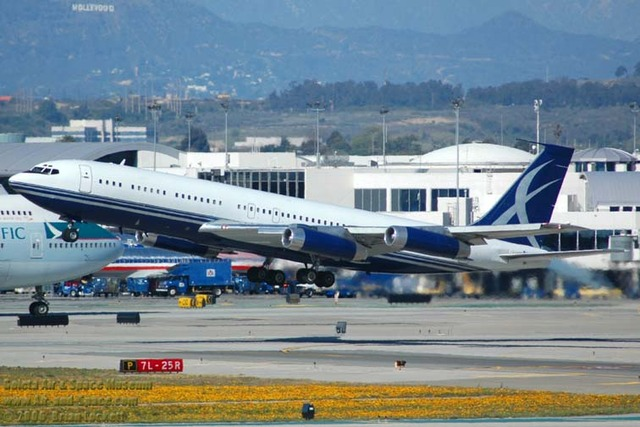 Boeing enters commercial aviation with the Boeing 707