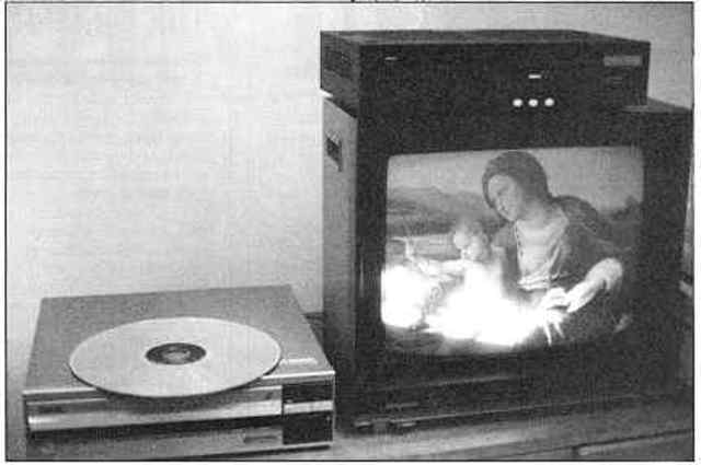 The video disk invented.