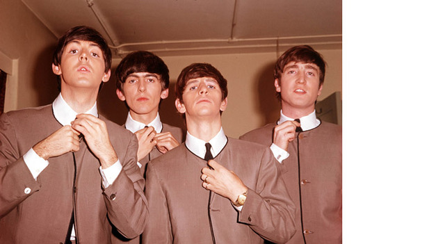 Cardin designed the Beatles suits which became popular for men.