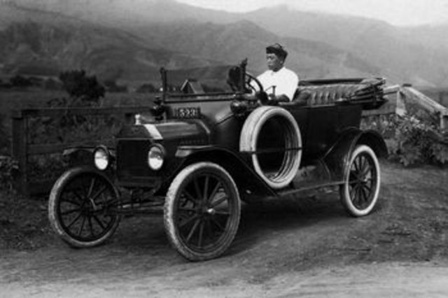 Nicolas-Joseph Cugnot invents the first steam powered automobile
