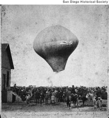 First manned flight