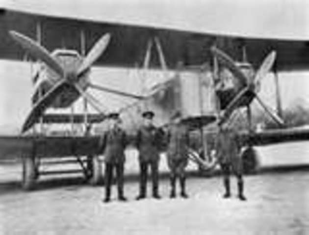 first transatlantic flight
