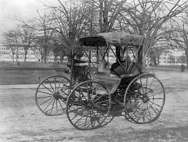 Robert Anderson invents first electric automobile