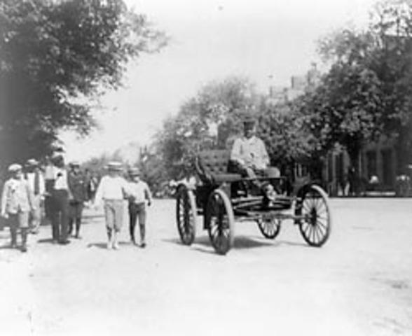 Gottlieb Wilhelm Daimler & Wilhelm Maybach invent first four-wheeled automobile