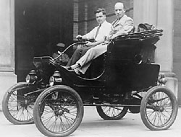 George Baldwin Selden invents first gas powered automobile with an engine