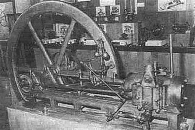 Four Stroke Internal Combustion Engine
