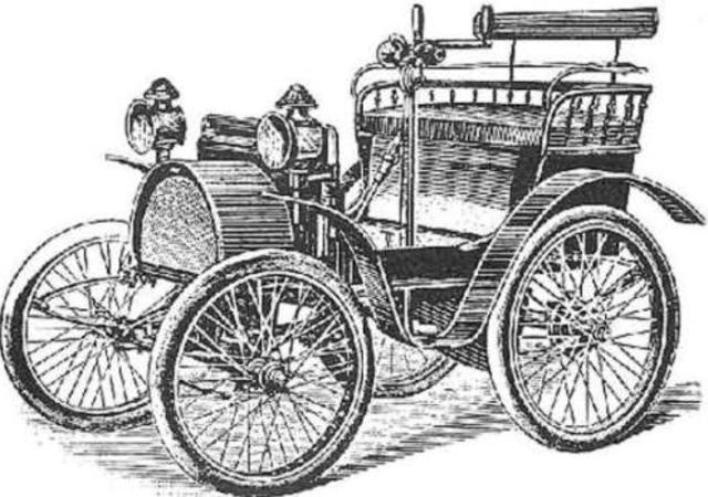 Leonardo Da Vinci invents drawings and plans for first automobile