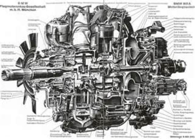 Air cooled radial engines