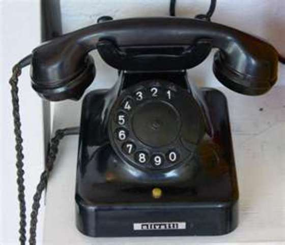 in 1947 the second telephone was invented.