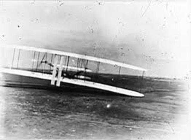 Man-controlled flight