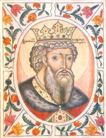 Grand Prince Vladimir of Kiev