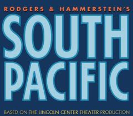 South Pacific, the prize-winning musical, opens on Broadway