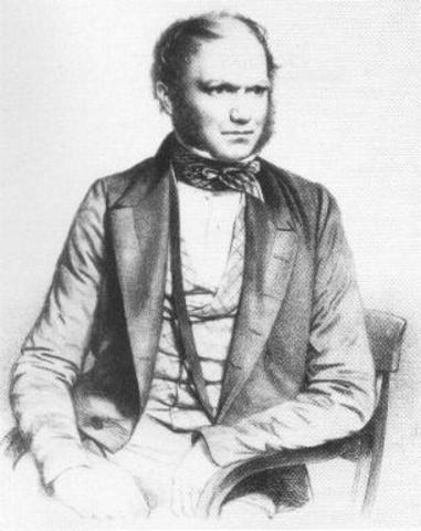 Darwin plantea su teoría sobre la selección natural